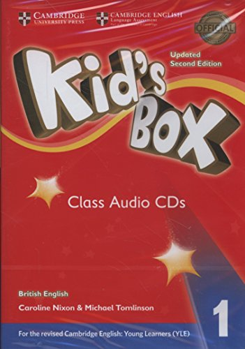 Kid's Box Level 1 Class Audio CDs (4) British English Nixon Audio