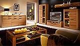 WOODTREE Wohnzimmer Komplettset Wohnzimmerkombination Wohnwand TV-Kombination