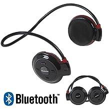 cfzc mini-503 universal inalámbrico Bluetooth estéreo auriculares deporte auriculares Música auriculares + TF ranura de carro + Spray, con micrófono ...
