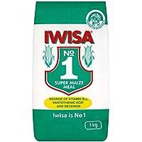 Iwisa 1 Kg De Maíz Súper Comida (Paquete de 2)