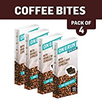 ONTHERUN Coffee Bites Combo (Pack of 4 x 40g Each)
