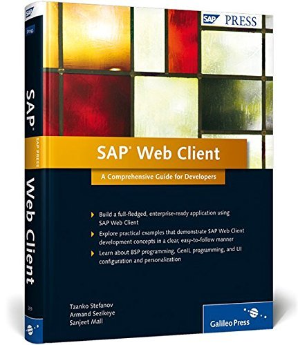SAP Web Client: A Comprehensive Guide for Developers by Tzanko Stefanov (2011-06-28)