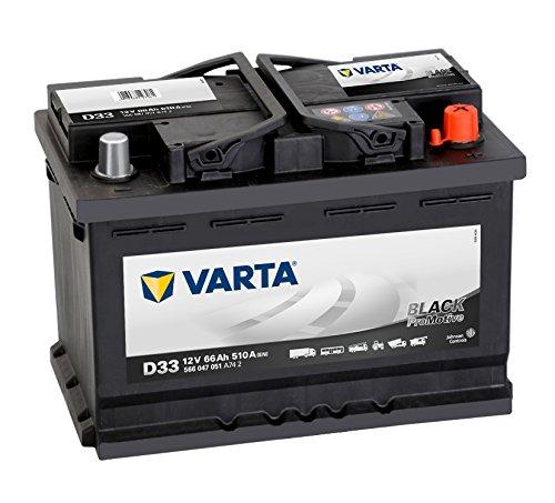Varta Promotive Black D33 Autobatterie 12V 66Ah 510A