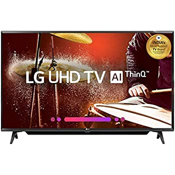 LG 108 cm (43 Inches) 4K UHD LED Smart TV 43UK6780PTE (Black) (2018 model)