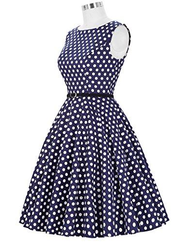 ... GRACE KARIN® 50s Retro Vintage Rockabilly Kleid Partykleider  Cocktailkleider GD6086 CL6086-45# ...