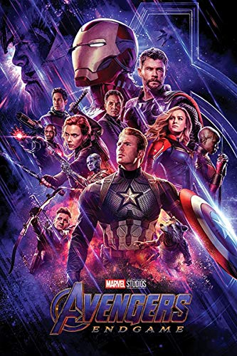 Close Up Marvel Avengers Endgame Poster One Sheet, Premium Filmplakat - Hochformat 91,5 x 61 cm + Ü-Poster -