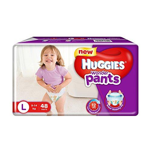 Huggies Wonder Pants Large Size Diapers (48 Count)