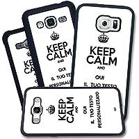 Cover Apple iPhone - Keep Calm and Personalizzata con la tua frase e Colori - Apple iPhone 6 Plus