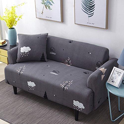 Anti-rutsch-schutzhüllen,Möbel protector Hohe elastizität haustiere und kinder couch abdeckung Schnittsofa werfen pad-S 2 Seater(55*73inch) (Arm-sofa Hohe)