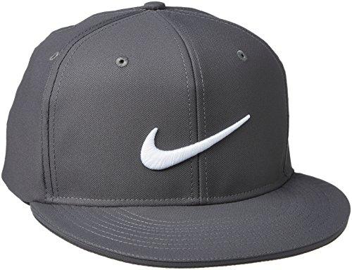 Nike True Statement Casquette Mixte Adulte, Gris Foncé/Gris Foncé/Blanc, FR : M (Taille Fabricant : M/L)