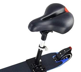 Lixada Selle /Électrique de Planche /à roulettes pour Xiaomi Mijia M365 Scooter Pliable Hauteur R/églable Absorbant la Chaise Pliante de Si/ège