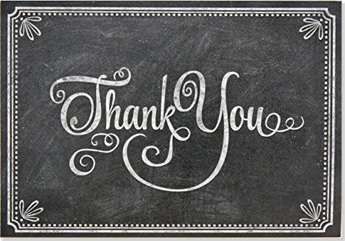 Chalkboard Thank You Notes (Stationery, Note Cards, Boxed Cards)