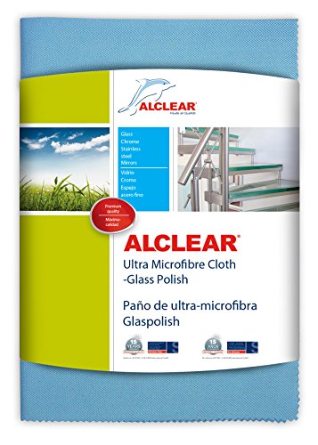 alclear 820051um   ultra microfiber cloth glass polish (blue) Alclear 820051UM   Ultra Microfiber Cloth Glass Polish (Blue) 51vC5QbZTVL