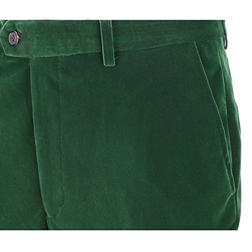 Xposed Herren Anzugjacke * One size Trouser-Emerald Green