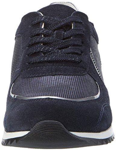 Waldläufer Hurly, Chaussures à Lacets Femme Blau (deepblue)