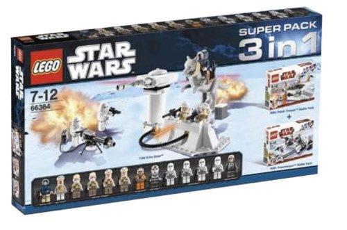 Lego - 66364 - Jeu de Construction - Super Pack 3 en 1 Star Wars