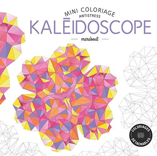 Mini coloriage antistress kaléidoscope