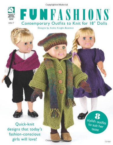 Fun Fashions Contemporary Outfits to Knit for 18