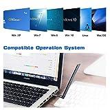 Sturdy.C WLAN-Adapter USB 3.0 WLAN-Adapter 1200 Mbps Dual-Band-WLAN-Karte WLAN-Empfänger 5G / 2,4G 5dBi für PC/Desktop/Laptop/Tablet-Unterstützung Windows 10/8.1/8/7 / XP/Vista MAC OS