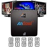 Store SMART TV Box ANDOWL Q M6 Android 8.1 4K 4GB RAM 32GB ROM IPTV 5G DUAL Band