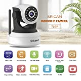 LEMNOI SP017 Telecamera di Sorveglianza Wireless 720P HD IP Camera WiFi/Ethernet con Istruzioni per l'uso App Sricam/DVR/NVR Assistenza in Italiano Compatibile con iOS/Android/Windows PC by Sricam