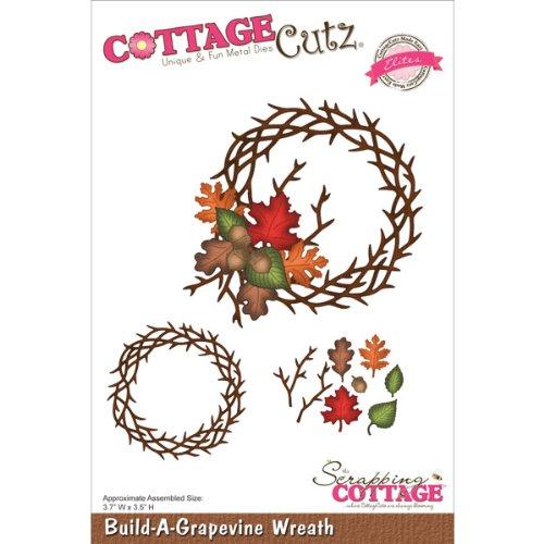 Cottage Cutz 3,5Build-a-Grapevine Kranz Eliten sterben Schnitte - Cottage Cutz