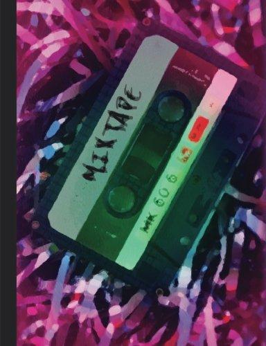 Mixtape Notebook, Journal Retro Cassette Tape Design