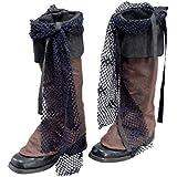 Bristol Novelty ba015techo pirata para las botas de estilo Distressed