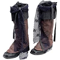 Bristol Novelty ba015 techo pirata para las botas de estilo Distressed