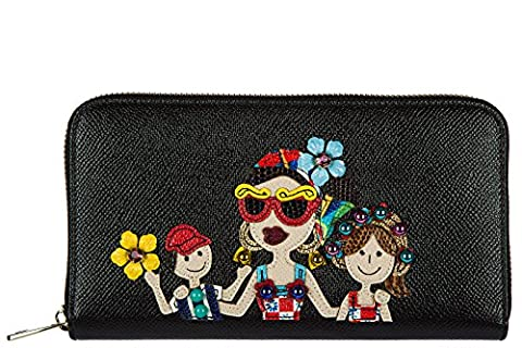 Dolce&Gabbana women's wallet leather coin case holder purse card bifold