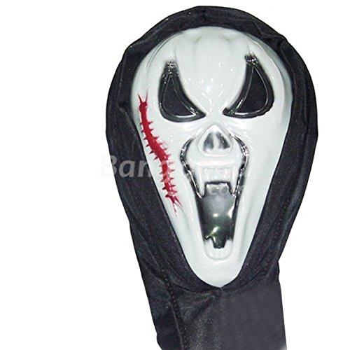 mark8shop Dance Parteien Halloween Masken schreien Centipede Gesicht Geist Masken