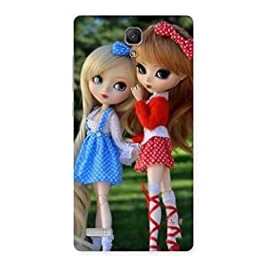 Gorgeous Sister Doll Multicolor Back Case Cover for Redmi Note 4