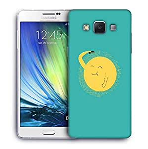 Snoogg Cute Sun Designer Protective Phone Back Case Cover For Samsung Galaxy ON5