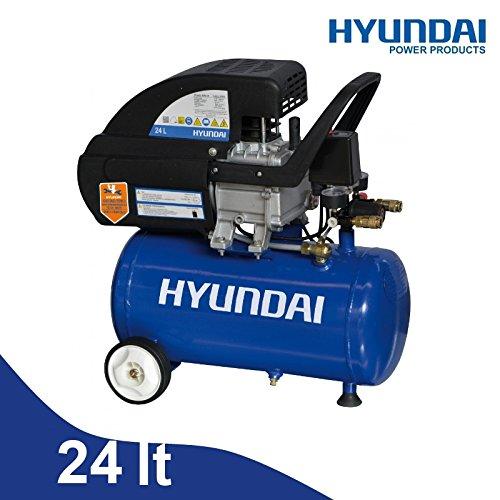 Compresor 24lt. de Aceite Hyundai - Bdm-24