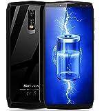 Blackview P10000 Pro - 6 Zoll FHD + (18: 9 Verhältnis) Android 4G Smartphone mit 11000mA Akku, Octa Core 2.0GHz 4GB + 64GB, Quad-Kameras, Gesichtserkennung, Typ-C, GPS - Spiegelgrau