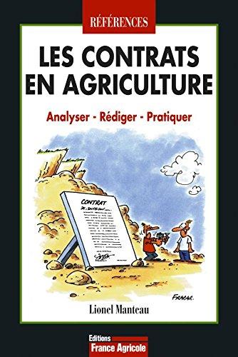Les contrats en agricultures