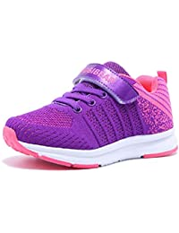 09d3ebfee1 GladRags Girls Boys Kids Trainers Hook   Loop Lace Style Breathable Running  Sports School PE Shoes
