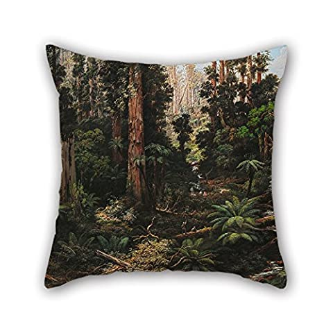 Loveloveu Pillowcase/Kissenbezüge 20 X 20 Inches / 50 By 50 Cm(two Sides) Nice Choice For Club,chair,kids,christmas,living Room,bedding Oil Painting Isaac Whitehead - In The Sassafras Valley, Victoria