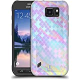 Head Case Designs Holographic Mermaid Scales Hard Back Case for Samsung Galaxy S6 active