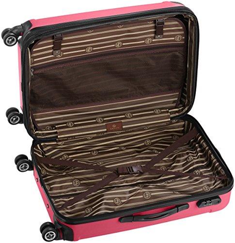 Shaik 7204052 Trolley Koffer, 50 Liter, Pink -