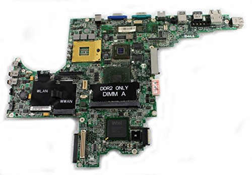 Genuine Dell YY703, CF464, F569K, C928K, YY709 Latitude D820 Precision M65 128MB nVidia Motherboard Logic Main Laptop Notebook System Board Compatible Part Numbers: YY703, CF464, F569K, C928K, YY709 -