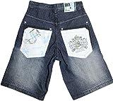 Southpole Hip Hop Short - Kurze Jeans Hose Blau - Shorts South Pole, Hosengrösse:32