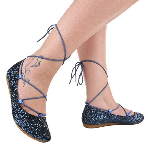 Ital-Design - Scarpe chiuse Donna Blu