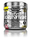 MuscleTech Platinum 100% Creatine, Ultra-Pure Micronized Creatine Powder, 80 Servings, (400g) FREE 100g BONUS