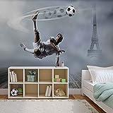 Papier Peint Photo Mural 2255P8 - Collection Sport - XXL - 368cm x 254cm - 4 Part(s) - Imprimé sur 115g/m2 papier mural