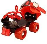 #9: M-Alive Roller Skates for Kids Age Group 6-12 years Adjustable inline Skating Shoes Multicolor