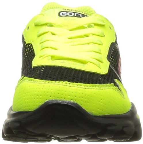 Skechers Go Run Ride Supreme, Chaussures de running garçon Jaune (Ylbk)