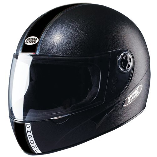 Studds Chrome Eco Helmet (Black, XL)