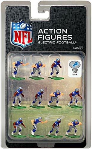 Detroit Lions?Dark Uniform NFL Action Figure Set by Tudor Games (Detroit Lions Uniformen)