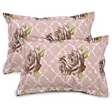 Ahmedabad Cotton 2 Pcs Cotton Pillow Cover Set - Beige